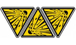 Stickers  / Autocollants explosif 2