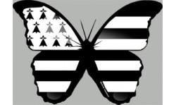 """stickers autocollants """"effet papillon Breton"""""""