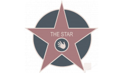 "Stickers / autocollants ""THE STAR"""