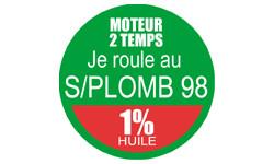 Autocollants : SANS PLOMB 98 - melange