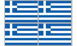 Stickers / autocollants drapeau Grèce