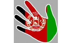 drapeau Afghanistan main