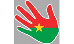 drapeau Burkina Faso main