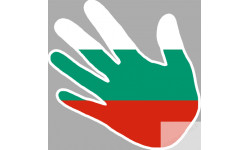 drapeau Bulgarie main