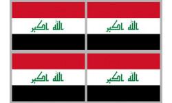 Stickers / autocollants drapeau Irak