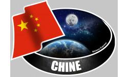 autocollant CHINE