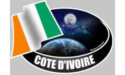 autocollant COTE D'IVOIRE