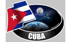 autocollant CUBA