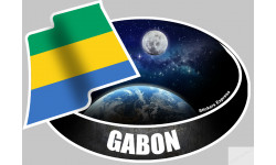 autocollant GABON
