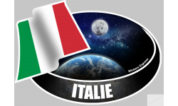 autocollant ITALIE