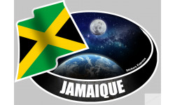 autocollant JAMAIQUE