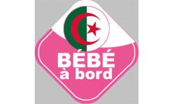 bébé à bord d'origine Algérienne