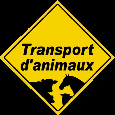 autocollant Transport d'animaux