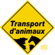 autocollant Transport d'animaux vivants