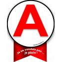 Autocollants : sticker / autocollant A je pilote