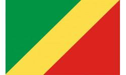 Autocollants : Drapeau Republique du Congo