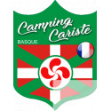 Autocollants : Camping cariste Basque