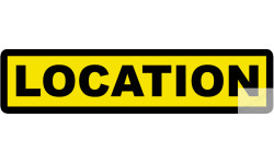 Autocollants : Stickers / autocollant location 1