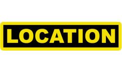Stickers / autocollant location 2