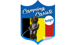 Autocollants : Camping car Belge