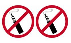 Cigarette électronique interdite