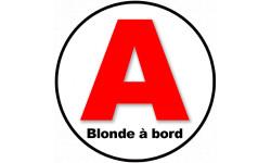 A Blonde à Bord