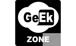 sticker zone geek wifi