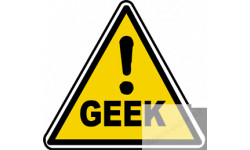 sticker danger geek