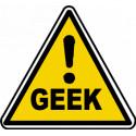 sticker danger geek