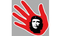 Stickers / autocollant main Cuba