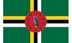 drapeau officiel Dominique
