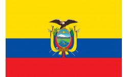 drapeau officiel Equateur